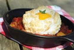 Cloud eggs rancheros