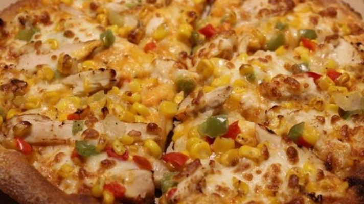 Panagos Chipotle Chicken Pizza Was Another Favourite
